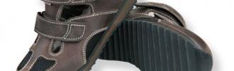 Semi orthopedische schoenen
